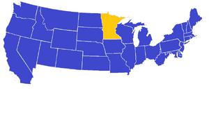 US 1984 Electoral Map CDM