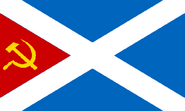 Flag of Communist Scotland