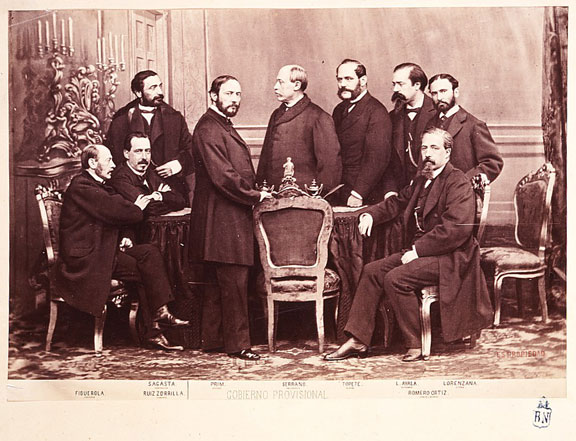 File:Gobierno Provisional 1869 (J.Laurent).jpg