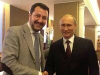 Salvini and Putin