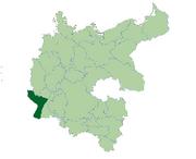 Deutschland Lage von Lothringen