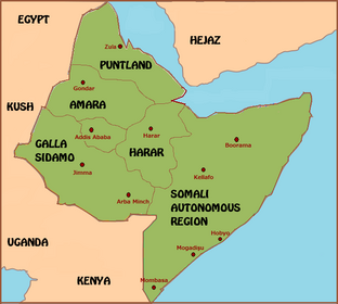 Abyssinia map (Fidem Pacis)