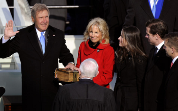 President Harrison Ford Inauguration