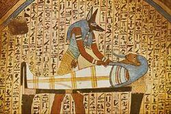 Anubis mummification