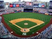 Yankee Stadium upper deck 2010