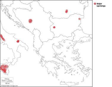 New Ottoman Empire - Balkan Uprisings