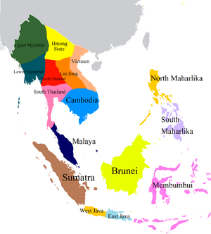Provinces of the Khmer Empire