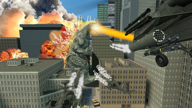 File:Godzilla s rampage by xenomoose-d4fkki6.jpg