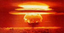 Plasmid nuclear bomb