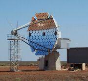 Woomera tracking satellite dish