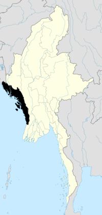 200px-Burma Rakhine locator map