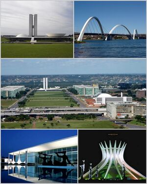 Montagem Brasília
