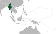Location of Burma (Myomi)