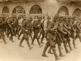 Aleppo-Ottoman troopsTopical press agency