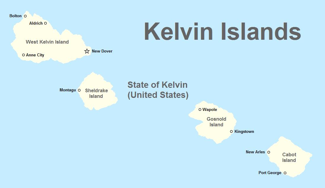 Kelvin Islands Atlantic Islands Alternative History