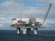 Norwegian oil rigs