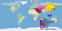 Timeline 1300s (Easternized World)