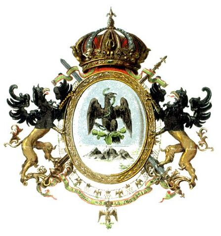 File:Second Mexican Empire Coat of Arms.jpg