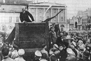 Lenin-Trotsky 1920-05-20 Sverdlov Square (original)