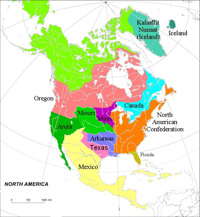 North America (Toyotomi)