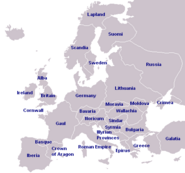 Mediaeval Europe (Celtic Rules)