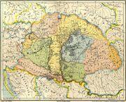Gesta hungarorum map