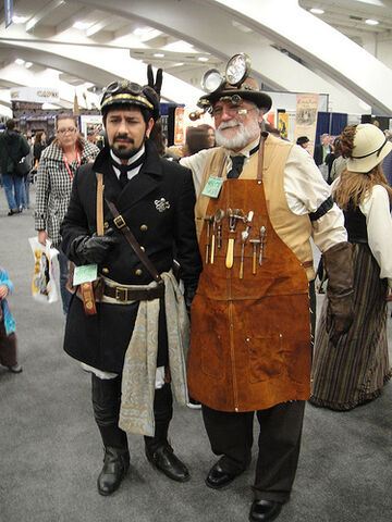 File:Captain Nemo and Phineas J. Flockmocker, III from Legion Fantastique, Jules Verne Reenactment group.jpg