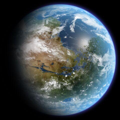 File:TerraformedMarsGlobeRealistic.jpg