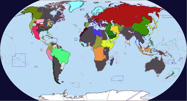 Diversa Pars Map Game 1938 Map