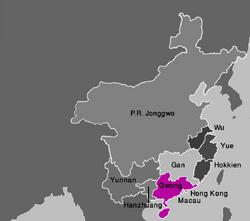 Map Gwong (VegWorld)