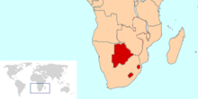 Territories of Southern Africa (TNE)