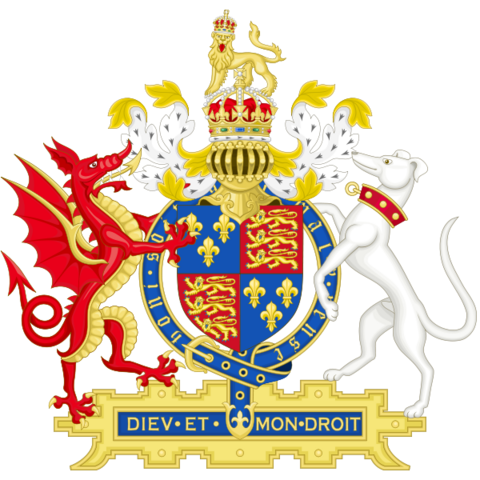 File:Coat of Arms of Henry VIII of England (1509-1547) Early reign.png