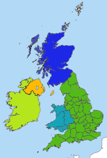 British isles great nuclear war