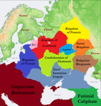 Map of Eastern Europe (687)