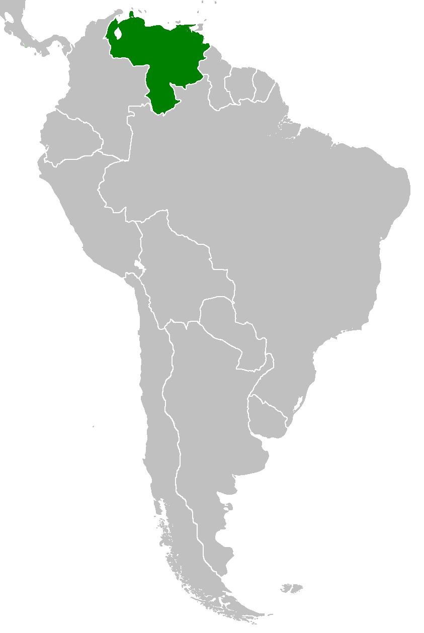 Image Venezuela Map CWpng Alternative History FANDOM - Map of venezuela world