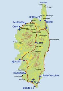 Map-Corsica