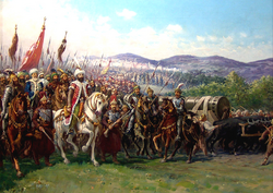Mehmed II in Rome (Caesar of Rome)