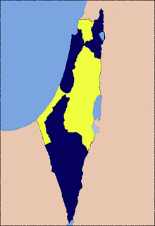 Map-of-palestine-and-israel