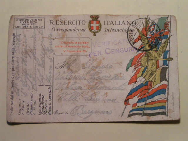 File:Postcard from WWI Italian front.jpg