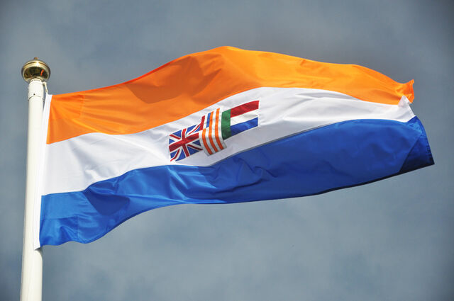 File:South africa old flag prinsevlag photo live image picture pole outdoor sky.jpg