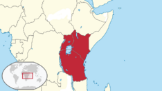 British East Africa (TNE) map