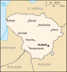 Lithuania-map