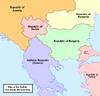 Map of the Balkans (No Napoleon)