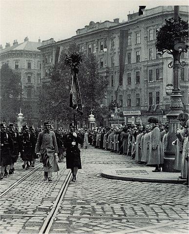 File:Militärparade ringstrasse wien.jpg