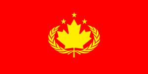 Communist Canadian Flag