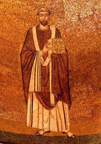 File:Simmaco - mosaico Santa Agnese fuori le mura.jpg