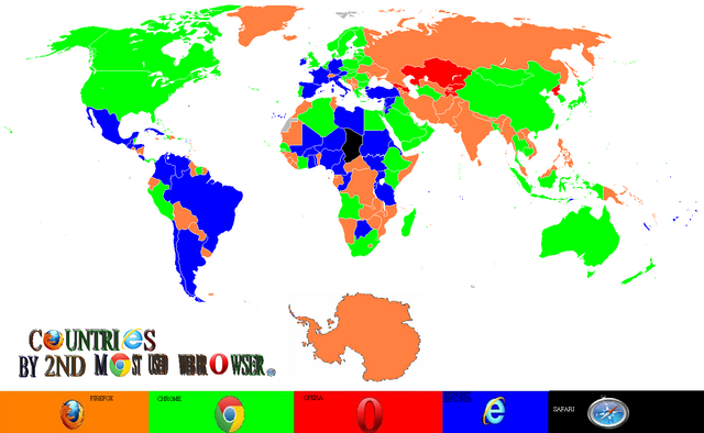 File:Countries by 2nd browser usage.png