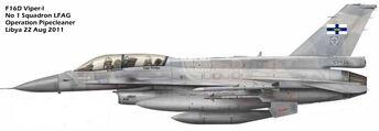 Welsh AF F16-I