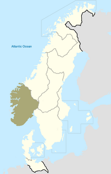 Rogaland Map