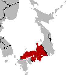 Location of Japan (Romae Delenda Est Map Game)